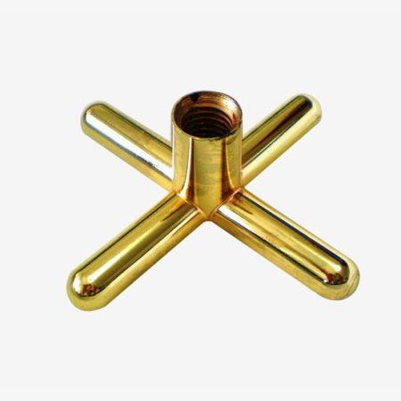 Metal Brass Cross Rest
