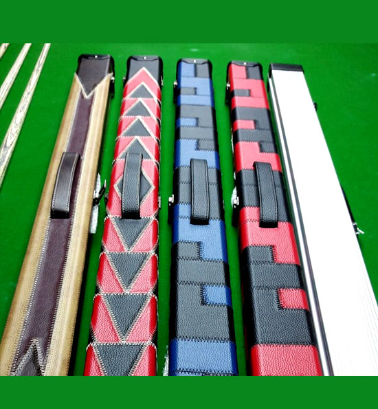 Snooker Cue and Cases