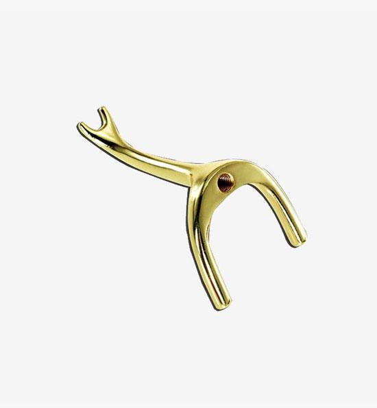 Brass Swan Rest Head