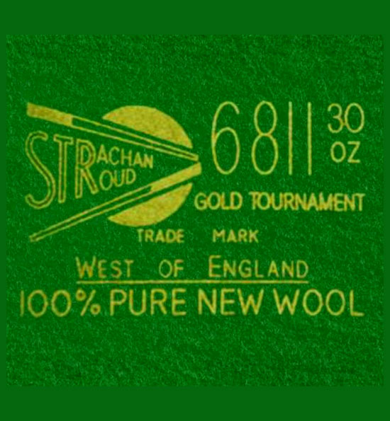 Strachan 6811 Tournament Snooker Cloth
